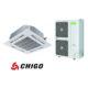 Най-добрите VRF системи, Конвенционален климатик касетен тип, CCA-48HR1, 3638 - купи онлайн от - bgr.bg