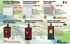 """Промоция на електрически конвектори в Практикер - """"Би Джи Ар Груп"""" ООД 6927"""