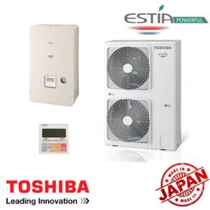 Най-добрите Термопомпи, Термопомпа въздух-вода Toshiba Estia Powerful HWS-P804XWH**-E / HWS-P804HR-E, 7862 - купи онлайн от - bgr.bg