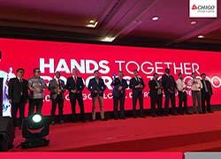 """""""Би Джи Ар Груп"""" ООД с награда за дистрибутор на Chigo за 2017 от традиционната годишна международна конференция на дистрибуторите на Chigo, която се проведе в периода 02-04 ноември 2017 г. в Бали, Индонезия. """"Би Джи Ар Груп"""" ООД бе отличена със специална награда """"2017 Chigo Excellent Agent""""."""