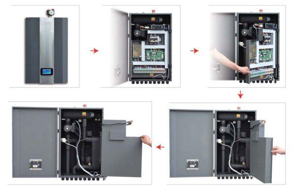Най-добрите Термопомпи, Инверторна термопомпа въздух-вода Crystal, Aqua Aura 9 kW, 8668 - купи онлайн от - bgr.bg