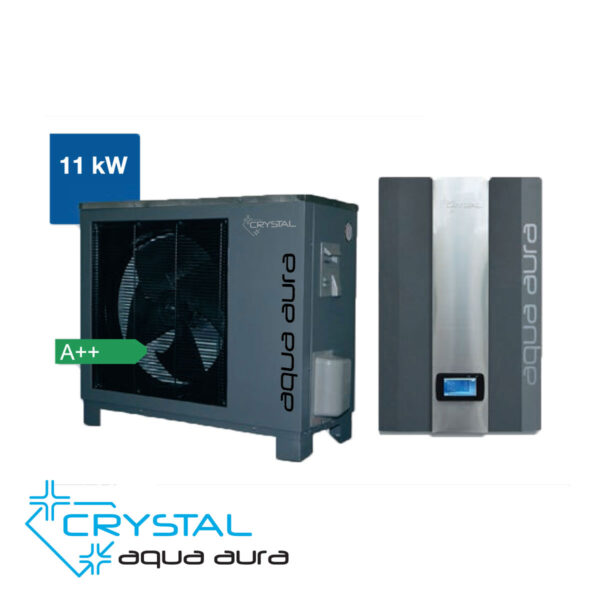 Най-добрите Термопомпи, Инверторна термопомпа въздух-вода Crystal, Aqua Aura 11 kW, 8688 - купи онлайн от - bgr.bg