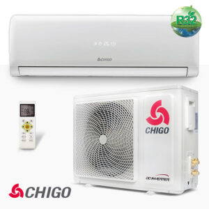 Най-добрите Климатици за високостенен монтаж, Инверторен климатик Chigo, CS-25V3G-1C169AY4A, 9558 - купи онлайн от - bgr.bg