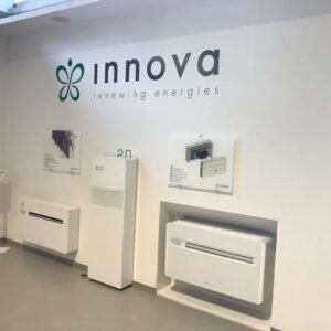 """През месец Септември 2018 екип на """"Би Джи Ар Груп"""" ООД направи посещение в завода на своя дългогодишен партньор INNOVA в Италия, с целОбмяна на опит, обучение и запознаване с новите поточни линии"""