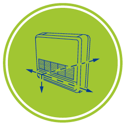 Конзолен климатик Crystal - Различни варианти за монтаж